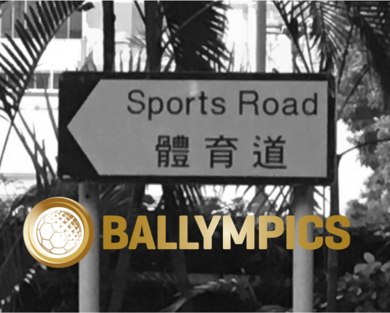 BALLYMPICS meets Hong Kong